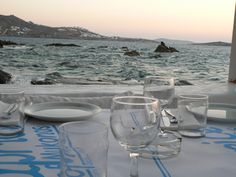 Aegean Sunset, Mykonos Restaurant & Table settings #seasatin #seasatinmykonos #capriceofmykonos #seasatinrestaurant #restaurant #greece #mykonos #lunch #dinner #mediterraneancuisine #greekstyle #mediterranean #greekrestaurant #tablesettings #foodphotography #greekfood #restaurantofmykonos #greekislands #seafood Mykonos Greece, Windmill, Venice, Landscape Photography, Satin, Restaurant, Sea, Island, Sunset