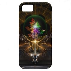 The Treasure Fractal Art iPhone 5 Case. $44.95 - Click Here http://www.xzendor7.com