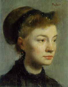 degas pastel portrait - Google Search