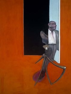 Francis Bacon (British, 1909-1992), Study for a Portrait March 1991, 1991. Oil and pastel on canvas, 198 x 147.50 cm.