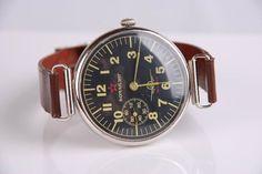 1952 Komandir Molnija Russian Soviet Military Wrist Watch Black AIRForce MO USSR ($228.00) - Svpply