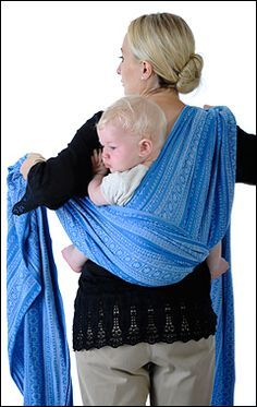 How-To instructions for some great carries! I'm interested in trying a woven wrap for the next little one, but am totally intimidated at figuring out how to back carry with them!