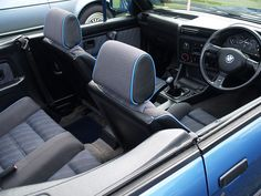 BMW 318I Convertible | BMW 318i Convertible Cockpit - 1983 | Flickr - Photo Sharing!