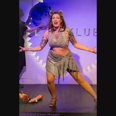 « Wolf Girl @ Helsinki Shake It! Burlesque Club 31.10.2015 Photo by Marco Baron »