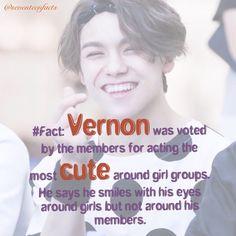 #seventeen #vernon #FACTS ^_^~