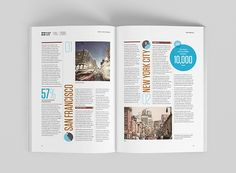 An editorial project for Knight Frank, Global Cities 2015 Report. Containing layout design, photography, illustration, infographics and data visualisation.