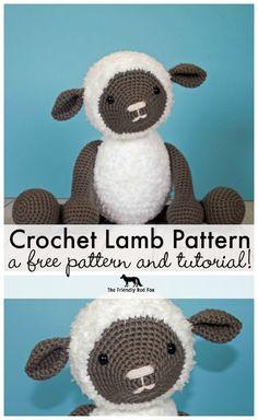 Free Crochet Pattern for Crochet Lamb