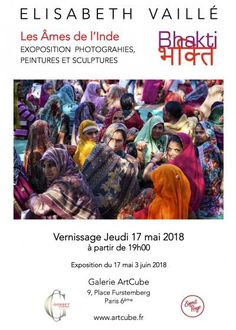 Bhakti भक्ति , Elisabeth Vaillé photography. Art Cube, Galerie D'art, Elisabeth, Paris, Baseball Cards, Twitter, Day Planners, Indian Music, Radiation Exposure