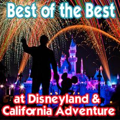Best of the Best at Disneyland and California Adventure - rides, dining, photo opportunities, souvenirs