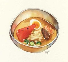 Food - Watercolor reference.