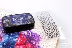 Ink and Texture Paste - Jowilna's Advanced Class Texture Paste, Ink, Design, India Ink
