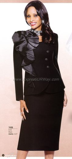 Church Suits by Terramina - Fall 2014 - www.ExpressURWay.com - Church Suits…