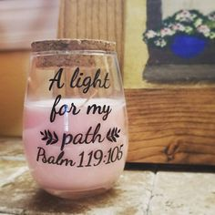 Scripture Scented Candle - JW Scripture Candle - JW Candle - JW gift - Scented Candle Gift - Jehovah's Witnesses -Best Life Ever -Small Gift