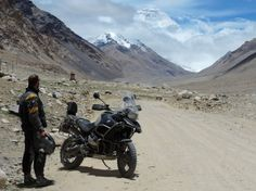 With unpredictable conditions and danger lurking behind every turn, the world's most extreme road trips will make you hop on your motorbike. Or at the very least, our list of six dangerous roads will spark your curiosity and trigger your wanderlust. Dangerous Roads, Tibet, Offroad, Chill, Road Trip, Motorcycle, Tours, Mountains, World