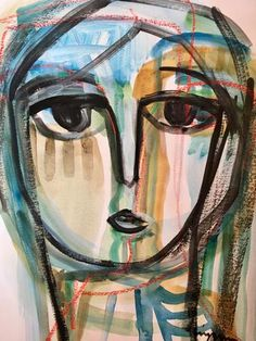 15x11 Acrylic and watercolor on paper, Craig Greene