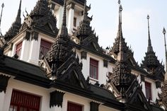 Bangkok - Wat Ratchanatdaram (Loha Prasat)