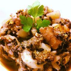 Riso nero in minestra di verza. www.fiammaefornelli.it