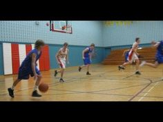 Basic Press Break Basketball Play - YouTube