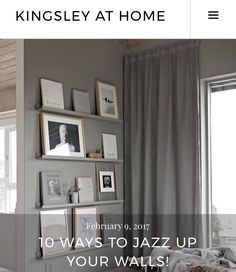 New Blog Post 10 Ways To Jazz Up Your Walls Interiorstylist Designideas