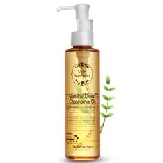 Skin Watchers Natural Deep Cleansing Oil 150ml #  Features This is a cleansing oil composed of natural apricot oil, macadamia seed oil, meadow foam seed oil, bergamot oil, and Vitamin-E conductor.      So, unlike mineral oil, it does not clog your pore