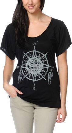 Jawbreaking Wanderer Black Tee Shirt