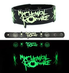 My Chemical Romance Wristband Glows in the Dark
