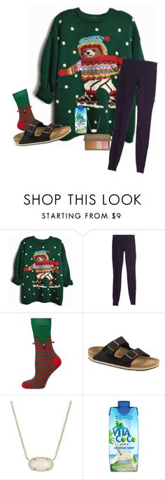 """""""christmas season starts NOW"""" by abby14310 ❤ liked on Polyvore featuring lululemon, Dorothy Perkins, Birkenstock, Kendra Scott, Vita Coco and Urban Decay"""