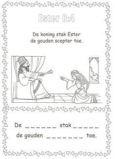 Ester 8:4 gouden scepter