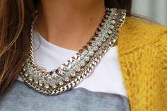 Beautiful things: Inspiração - colares