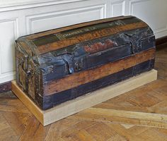 Queen Marie Antoinette's traveling chest, 18th century