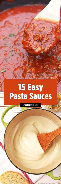 Homemade Pasta Sauce: 15 Easy Recipes We Swear You Won't Screw Up — Eatwell101