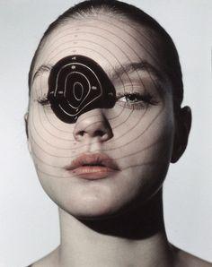 Jessica Stam by Donna Trope