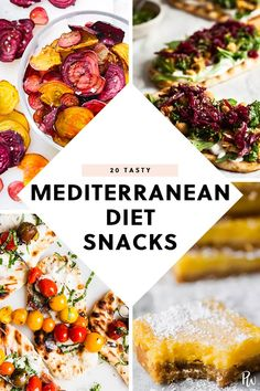 20 Snacks That Are on the Mediterranean Diet purewow recipe food snack mediterranean Easy Mediterranean Diet Recipes, Mediterranean Dishes, Mediterranean Appetizers, Mediterranean Diet Breakfast, Healthy Recipes, Healthy Snacks, Healthy Eating, Nutritious Snacks, Delicious Recipes