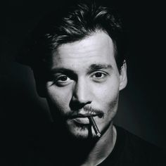 Johnny Deep -- my man. Johnny Depp Quotes, Johnny Depp Movies, Tim Burton, Young Johnny Depp, Chef D Oeuvre, Perfect Boy, Gorgeous Men, My Idol, Actors & Actresses
