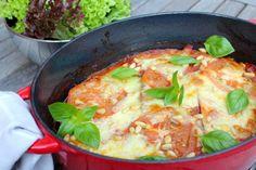 Lasagne met aubergine (Sandra Bekkari) - www.be - Curry, Veggies, Favorite Recipes, Healthy, Ethnic Recipes, Food, Eggplants, Veggie Lasagna, Curries