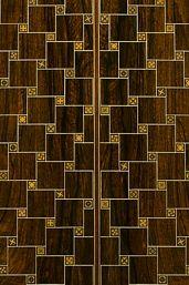 Andamento guitar by Ervin Somogyi, back detail