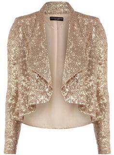Rose Gold Sequin Jacket