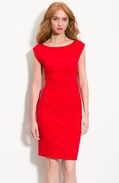 Diane von Furstenberg 'Jori' Fitted U-Back Dress