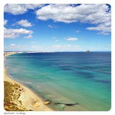 La Manga del Mar Menor en La Manga, Murcia