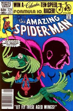 The Amazing Spider-Man #224 - January 1982