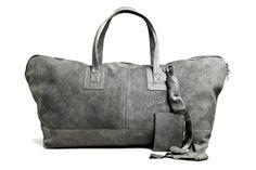 Rick Owens Leather Traveler Bag