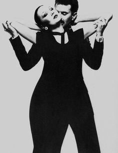 Vogue UK, September 15th, 1975. Model: Marie Helvin. Photographer: David Bailey.