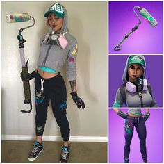Fornite in a bush cosplay | Fortnite cosplay | Pinterest | Cosplay Costumes and Halloween costumes