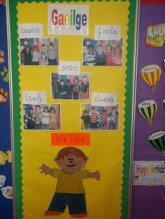 gaeilge junior infants. - Google Search Infant Activities, Art Activities, Classroom Displays, Classroom Ideas, Childcare Rooms, School Terms, Irish Language, Infant Classroom, 5 Babies