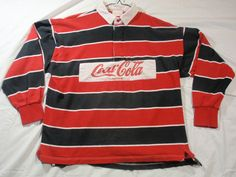 Coca-Cola Rugby shirt