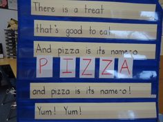 HEN: The Little Red Hen (Makes a Pizza). Pizza song/pocket chart activity.