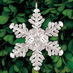 2016 Sterling Collectables Snowflake 4th Edition Sterling $120 $194 Ornament