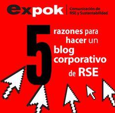5 razones para hacer un blog corporativo de RSE http://www.expoknews.com/2013/08/29/5-razones-para-hacer-un-blog-de-responsabilidad-social-2/