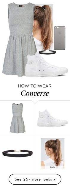 """Summer love❤"" by hannahmcpherson12 on Polyvore featuring NIKE, ONLY, Converse, Humble Chic and Native Union"