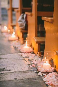 Świece na ślubie i weselu